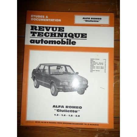 Giulietta Revue Technique Alfa Romeo