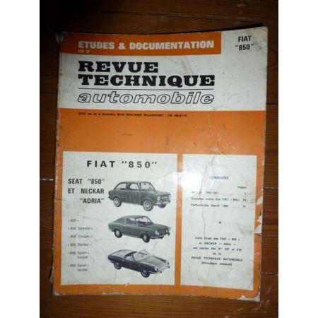 850 Neckar Adria Revue Technique Fiat