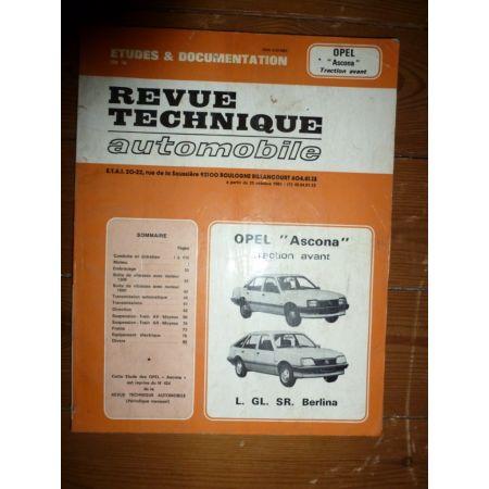Ascona Revue Technique Opel