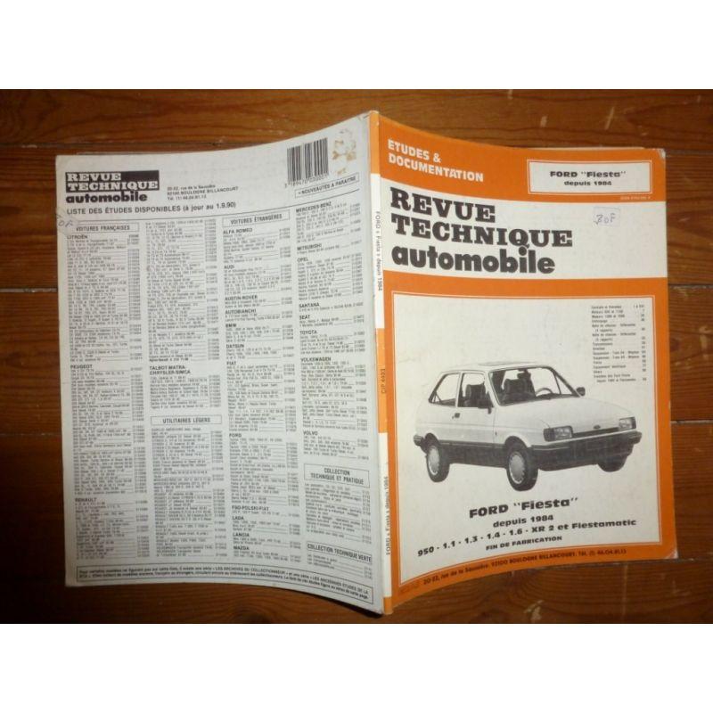 Revue Technique Ford Fiesta : ford fiesta 950cc fiestamatic et xr2 depuis 1984 ~ Voncanada.com Idées de Décoration