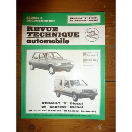 R5 Express Die Revue Technique Renault