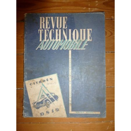 DS 19 Revue Technique Citroen