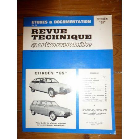 GS Revue Technique Citroen