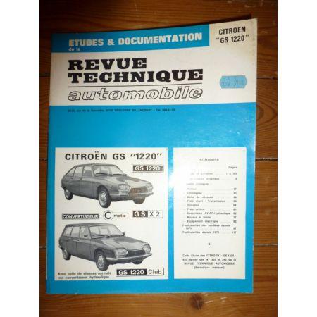 GS 1220 Revue Technique Citroen