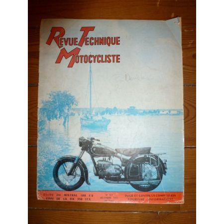 Mistral 100cc E2 Revue Technique moto