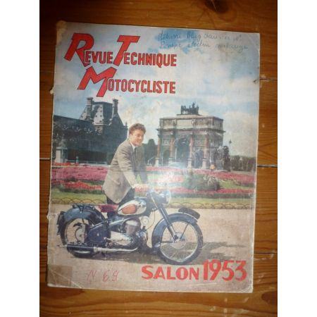 250cc Revue Technique moto Amc