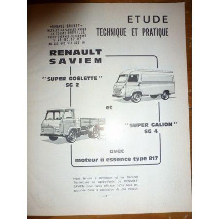 SG2 SG4 Ess Revue Technique Saviem Man Renault