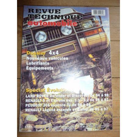 SPECIAL EVO Revue Technique Land rover Renault Peugeot Renault