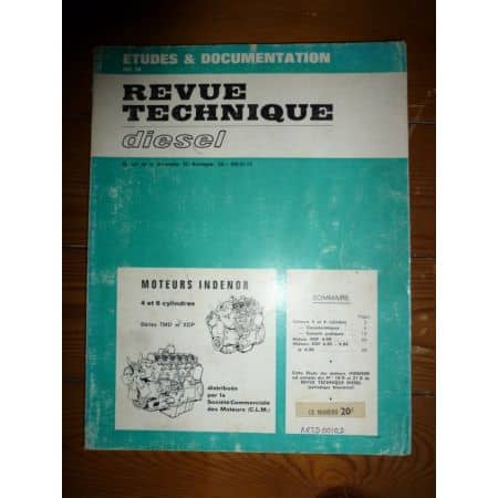 TMD-XDP 4 6 cyl Revue Technique Peugeot et Indenor
