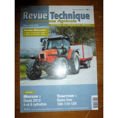 IRON 100 110 120 Revue Technique Agricole Same