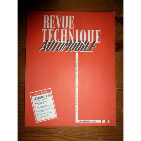 4CV 57-61 Revue Technique Renault