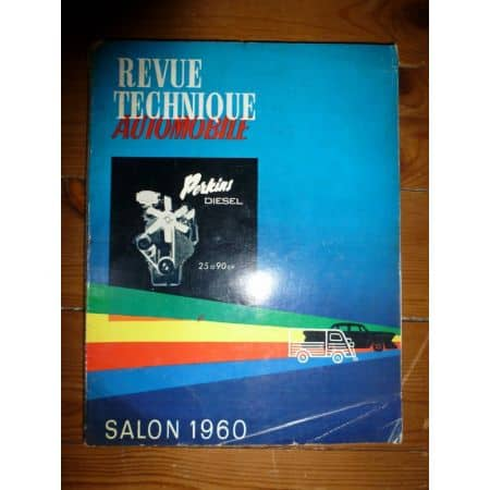 Salon 1960 Revue Technique