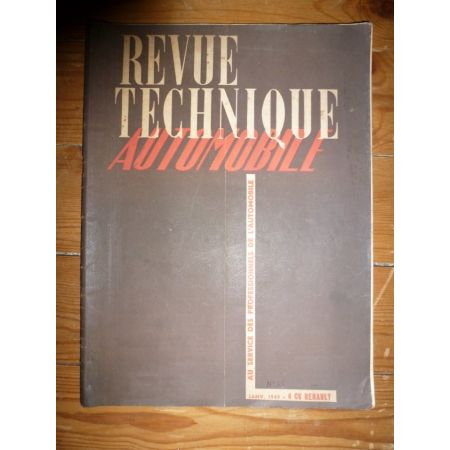 4CV Revue Technique Renault