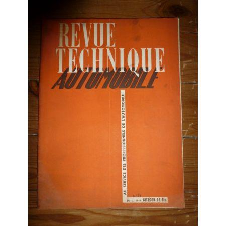 15 Six Revue Technique Citroen