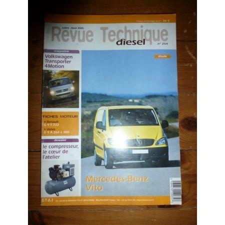 Vito II 109 111 115 Revue Technique Mercedes