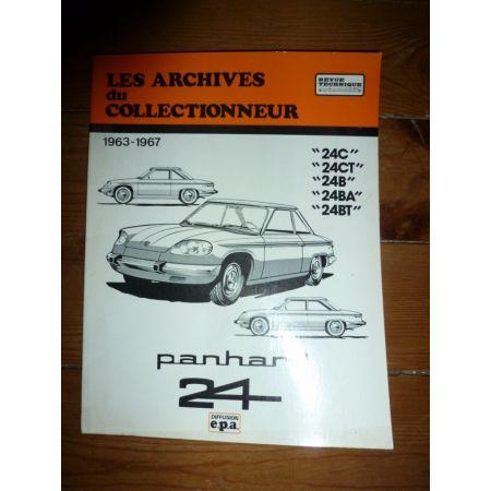 Panhard 24 Revue Technique Panhard Les Archives Du Collectionneur