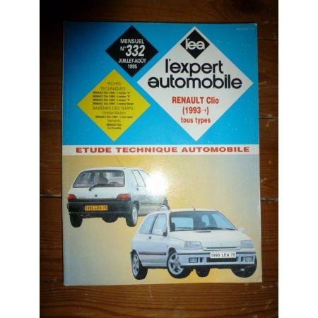 Clio I 93- Revue Technique Renault