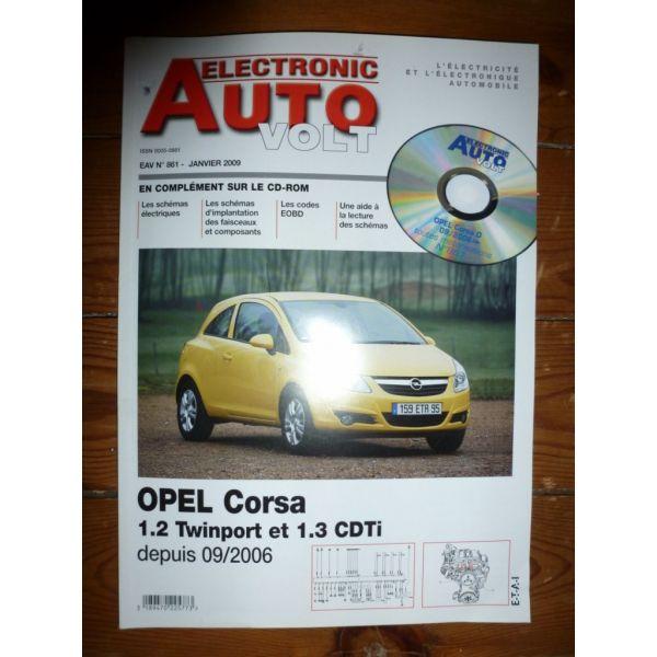 Corsa 06- Revue Technique Electronic Auto Volt Opel