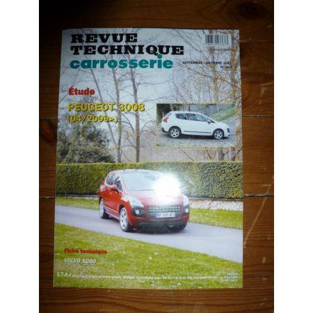 3008 09- Revue Technique Carrosserie Peugeot