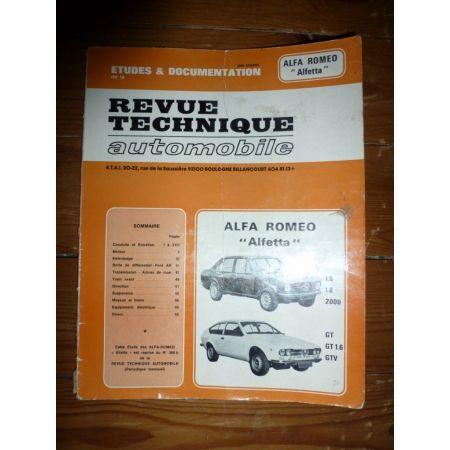 Alfetta Revue Technique Alfa Romeo
