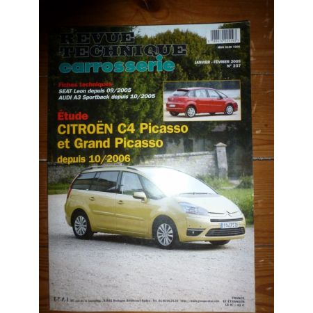C4 Picasso 06- Revue Technique Carrosserie Citroen