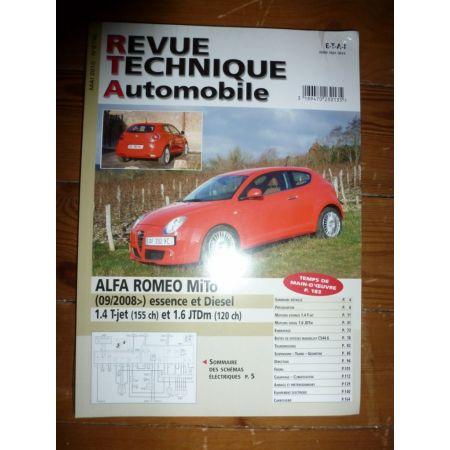 Mito 08- Revue Technique Alfa Romeo