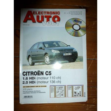 C5 HDI Revue Technique Electronic Auto Volt Citroen