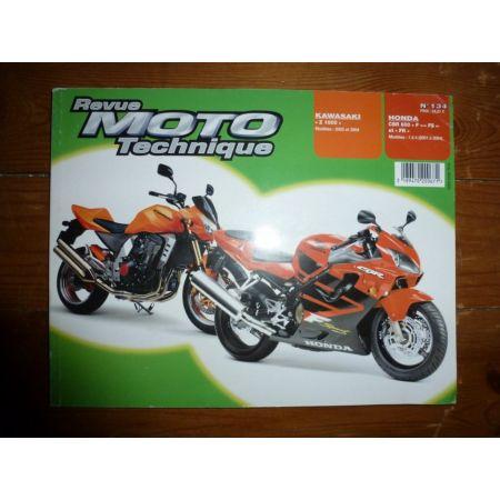 CBR600F Z1000 Revue Technique moto Honda Kawasaki