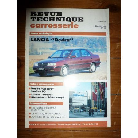 Dedra Revue Technique Carrosserie Lancia