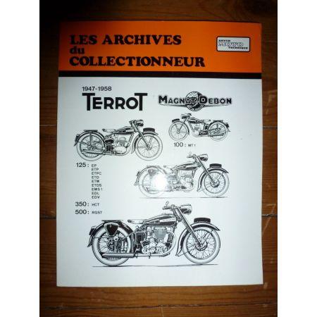 125cc 500cc Revue Technique Les Archives Du Collectionneur Terrot