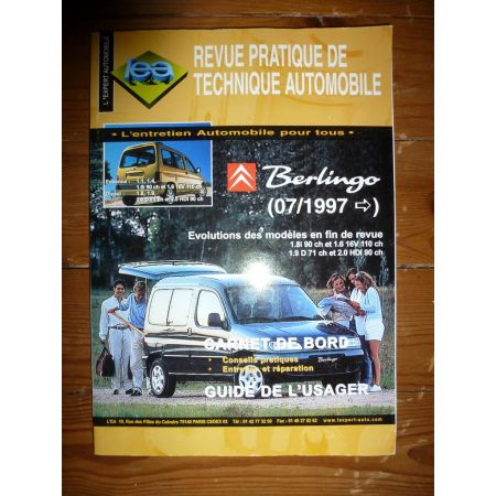 BERLINGO Revue Technique Citroen