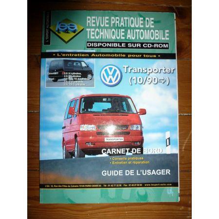 Transporter dep 90- 2.5tds 2.5 ess Revue Technique Volkswagen