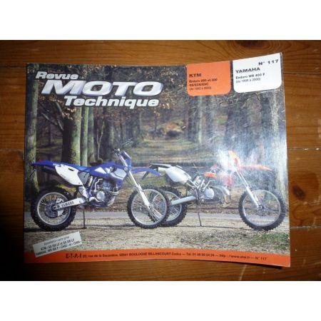 WR400F 250 300GS Revue Technique moto Ktm Yamaha
