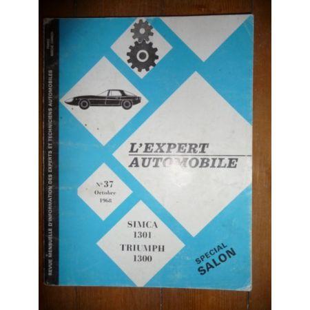 1301 Revue Technique Matra et Simca Talbot Triumph