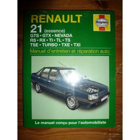 R21 Ess. Revue Technique Haynes Renault