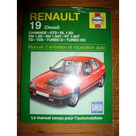 R19 Die Revue Technique Haynes Renault