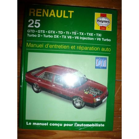 R25 Revue Technique Haynes Renault