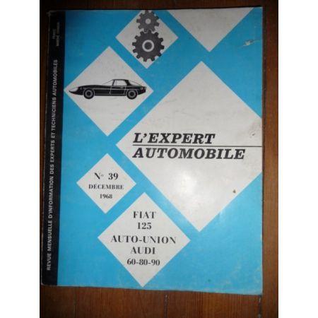 125 60 80 90 Revue Technique Audi et Fiat