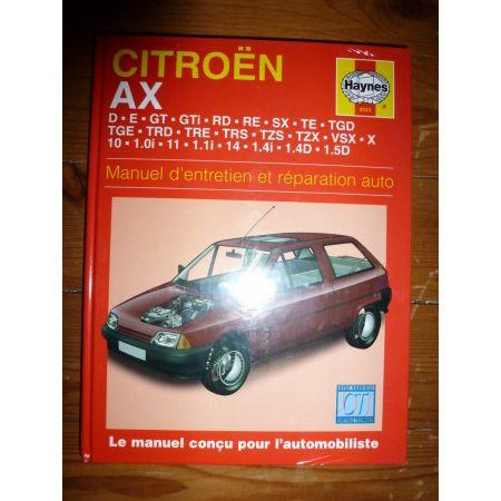 AX Revue Technique Haynes Citroen