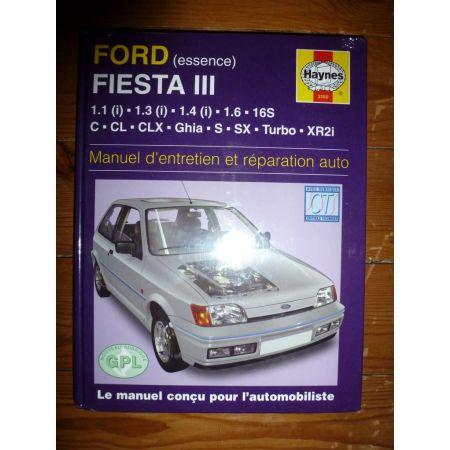 Fiesta III Revue Technique Haynes Ford