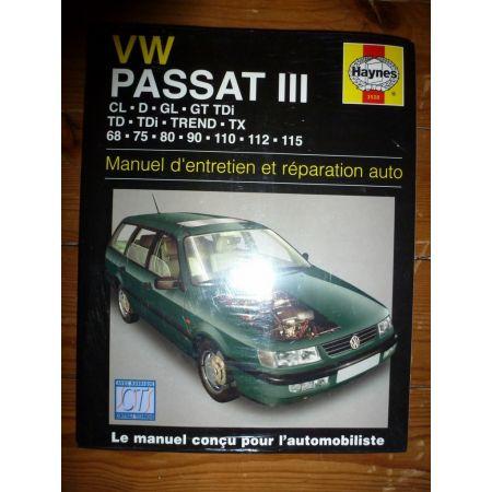 Passat III Revue Technique Haynes Volkswagen