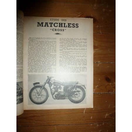 Cross 350 500cc Revue Technique moto Matchless