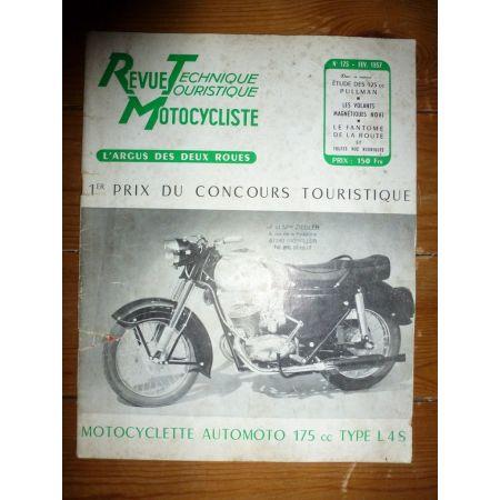 125 PULLMAN Revue Technique moto Money goyon