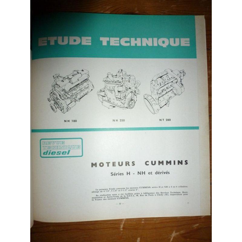 rta revues techniques poids lourds moteurs cummins h nh et d riv s. Black Bedroom Furniture Sets. Home Design Ideas