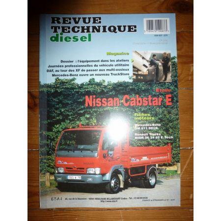 Cabstar E Revue Technique Nissan