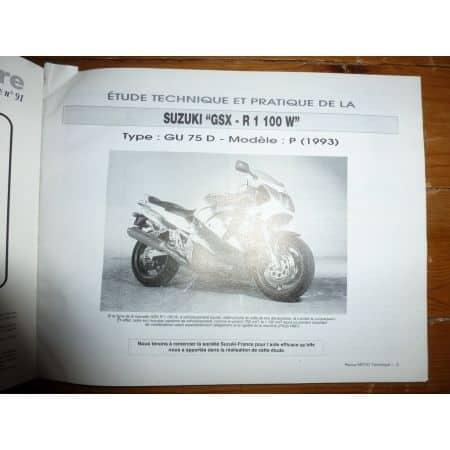 XRV750 GSXR1100 Revue Technique moto Honda Suzuki