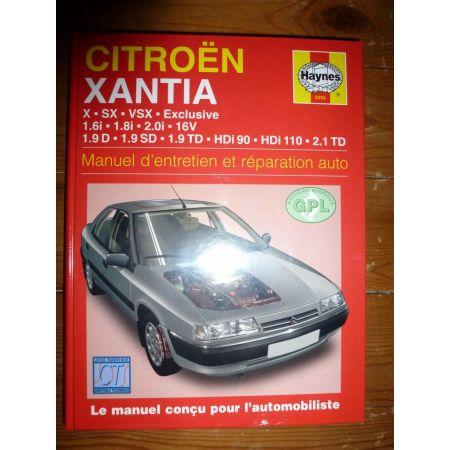 Xantia Revue Technique Haynes Citroen