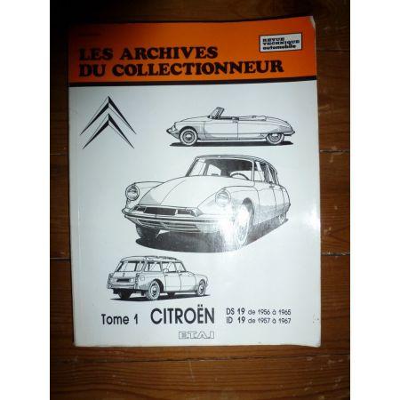 DS19 ID19 Revue Technique Les Archives Du Collectionneur Citroen