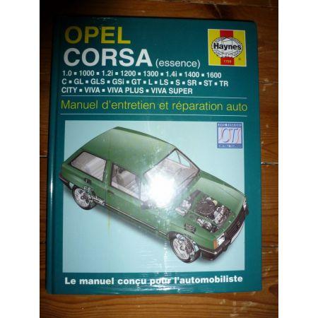 Corsa A Ess Revue Technique Haynes Opel