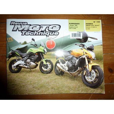 CB600 F-VERSYS 650 Revue Technique moto Honda Kawasaki